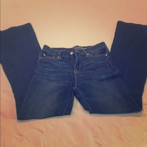 Cute Gap high waisted flared jeans